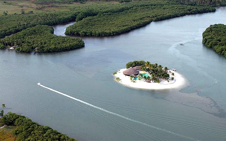 Ilha do Carlito - Lagoa Mundaú