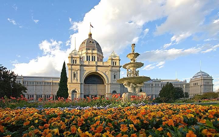 Jardim botânico em Melbourne