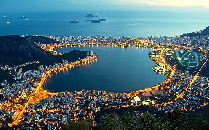 Lagoa Rodrigo de Freitas - Rio de janeiro