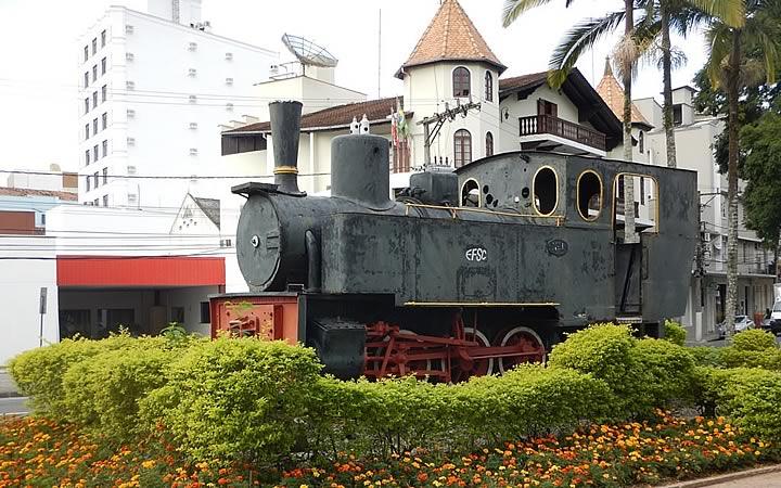 Locomotiva Macuca - Blumenau