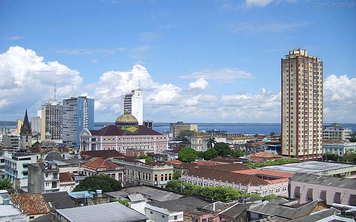 Manaus centro da cidade