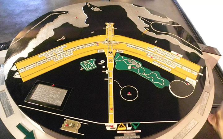 Maquete do Plano Piloto - Brasília