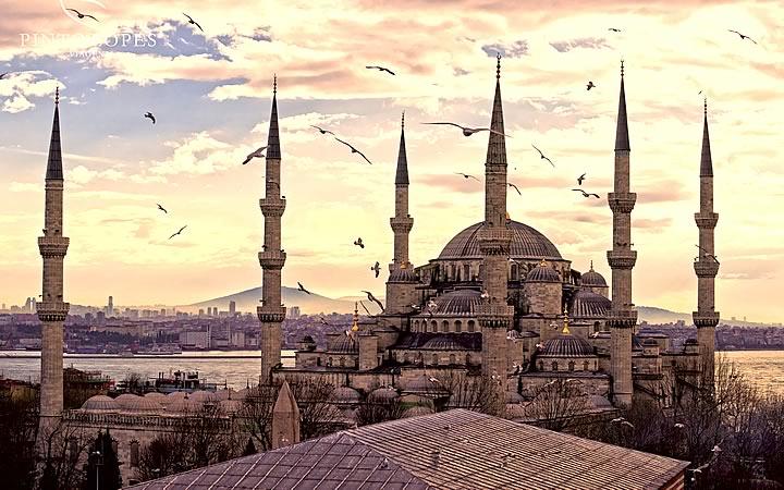 Mesquita Imperial do Sultão Ahmet - Istambul