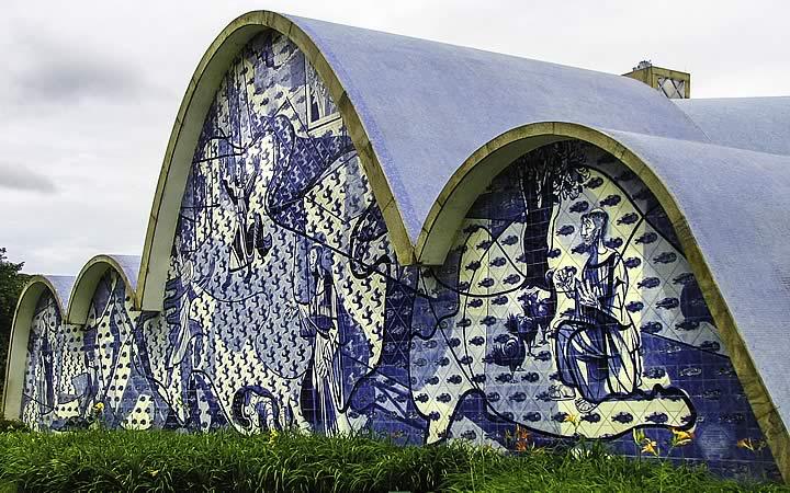 Painel de São Francisco na Igreja da Pampulha - Brasília