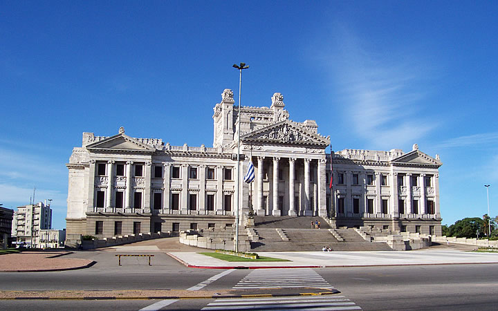 Palácio Legislativo de Montevidéu - Uruguai
