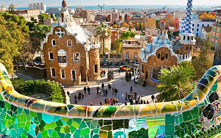 Parque Guell - Barcelona