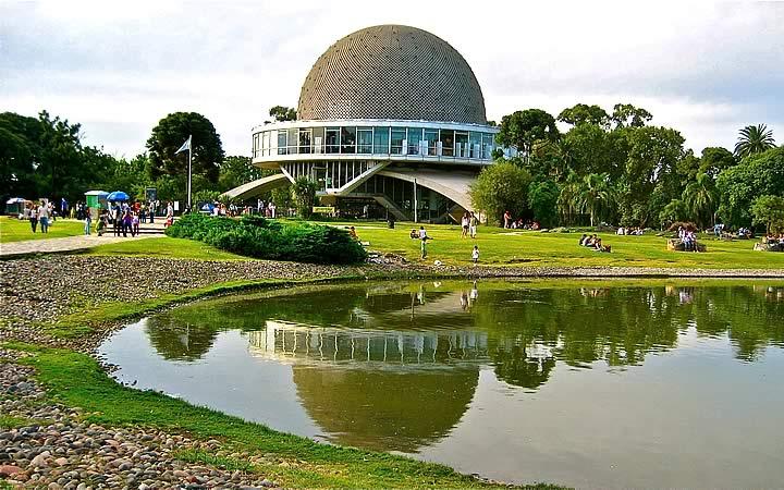 Planetário Galileo Galilei - Bosque de Palermo - Buenos Aires