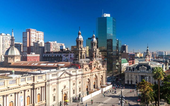 Plaza de Armas - Santiago