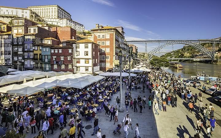 Porto - Ribeira em Portugal