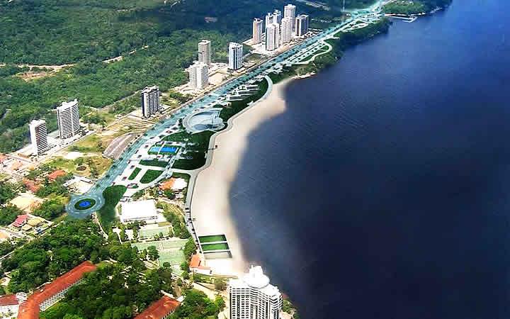 Praia Ponta Negra - Manaus
