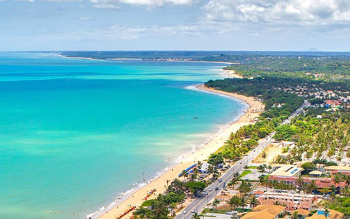 Praia de Taperapuã - Porto Seguro - Bahia