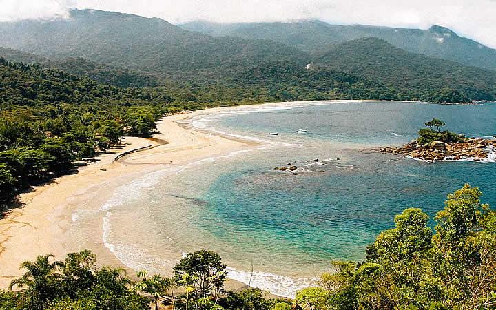 Praia do Bonete e Castelhanos - Ilhabela