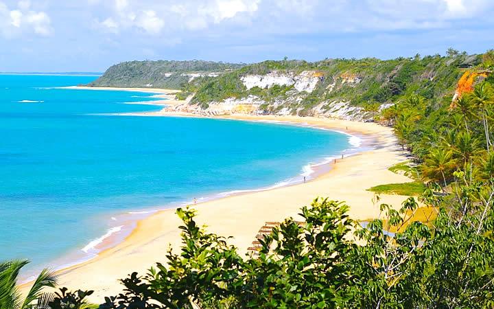 Praia do Espelho em Troncoso - Bahia