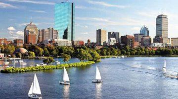 Sailboats in Boston