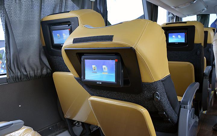 Ônibus confortável