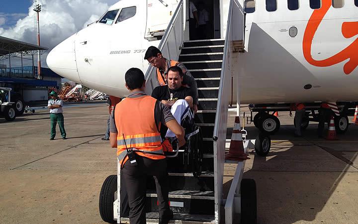 Acessibilidade no Aeroporto para Portadores de Necessidades especiais