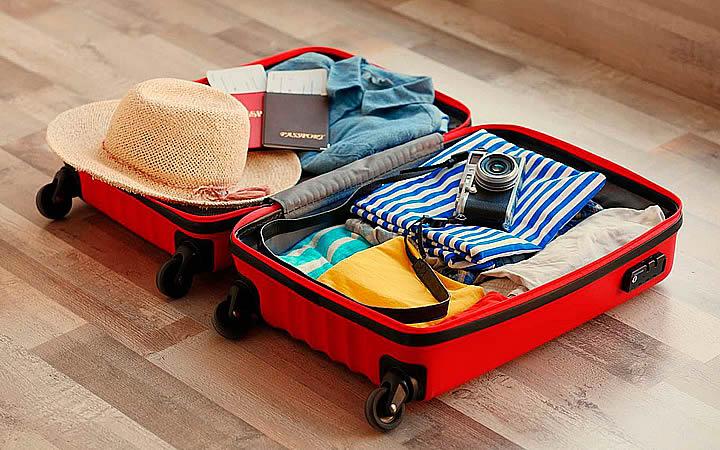 Arrumando a mala para Aracaju