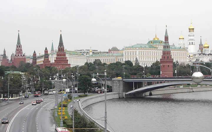 As sete irmãs em Moscou