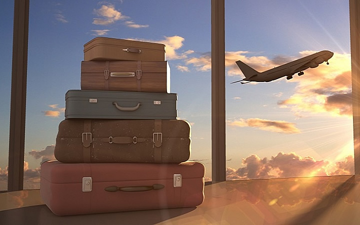Bagagem em Aeroporto