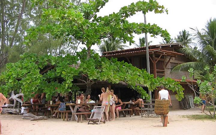 Bar e Restaurante Tubarão - Barra Grande - Península de Maraú