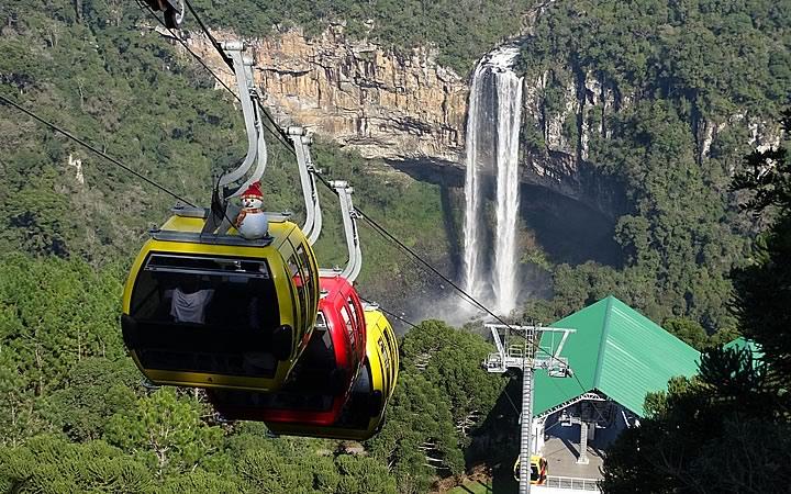 Bondinhos Aéreos do Parque da Serra Gaúcha