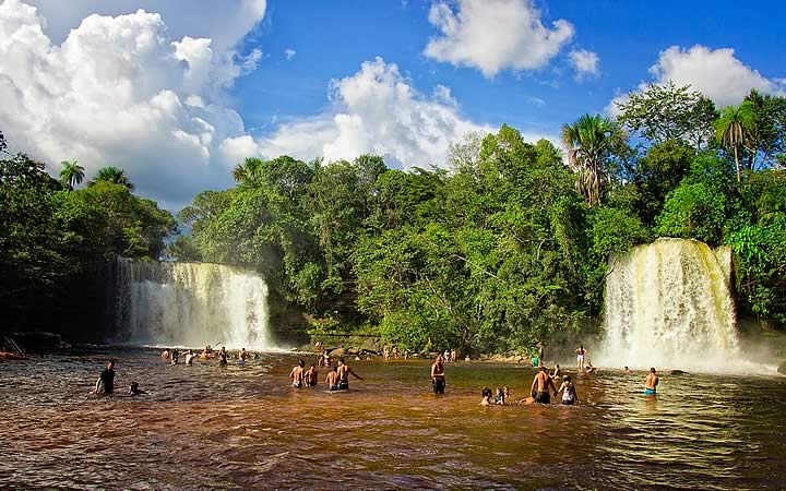 Cachoeira de Itapecuru - Chapada das Mesas