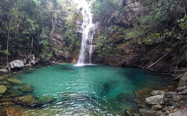 Cachoeira de Santa Bárbara - Chapada das Mesas