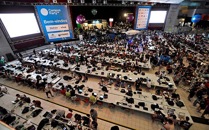 Campus Party - visão de um drone