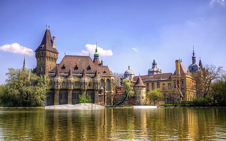 Castelo Vajdahunyad em Budapeste