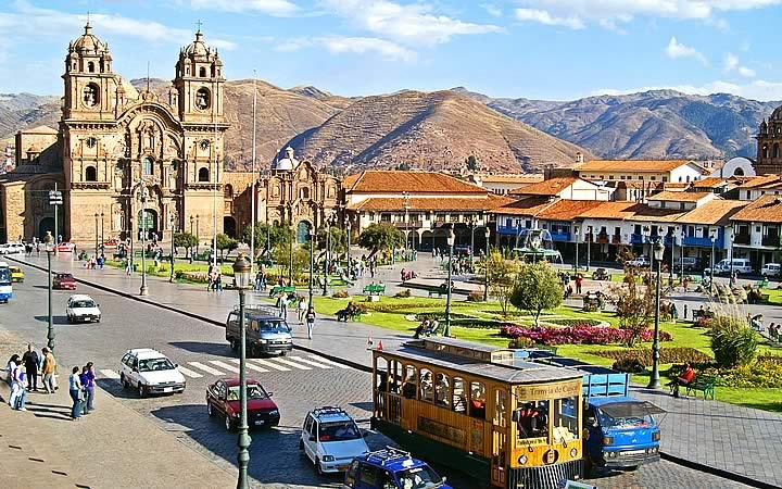 Cusco - Centro da Cidade