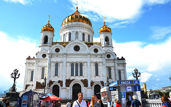 Igreja Ortodoxa - Moscou