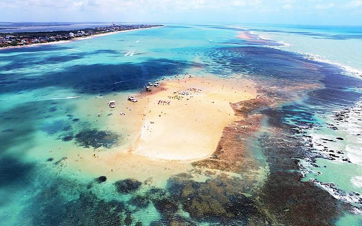 Ilha da areia vermelha - João Pessoa