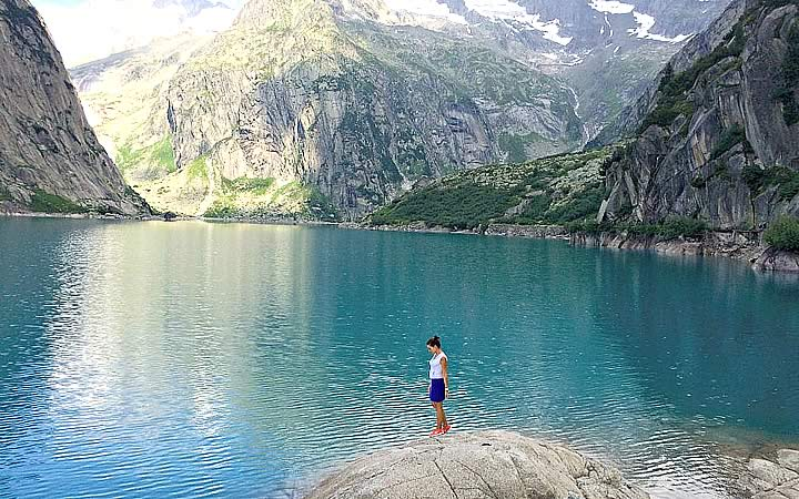 Lago Gelmersee - Suíça