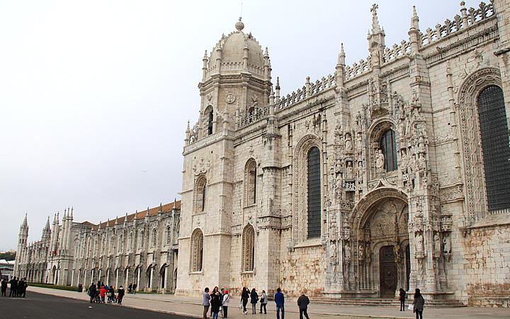 Mosteiro dos Jerónimos em Portugal