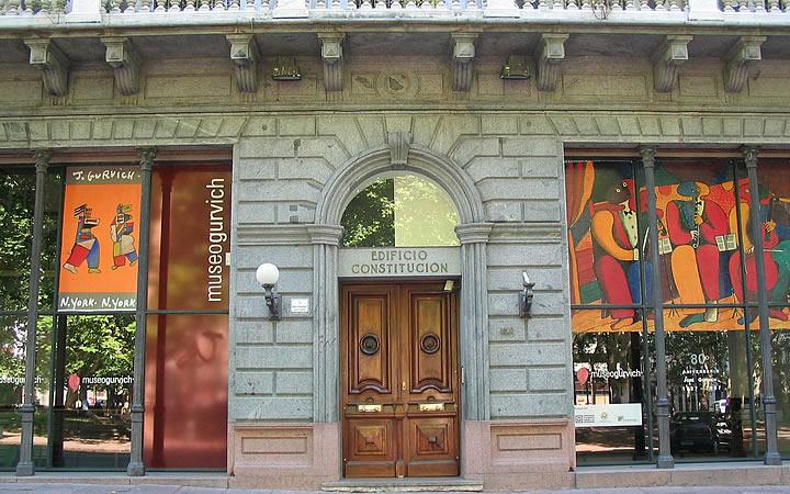 Museo Gurvich - Fachada - Montevidéu