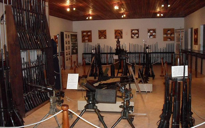 Museu Armas Major Lara Ribas - Santa Catarina