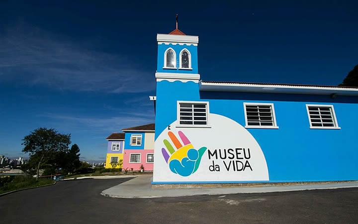 Museu da vida - Fachada - Curitiba