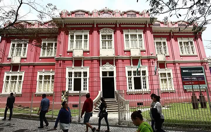Museu de arte Contemporânea em Curitiba