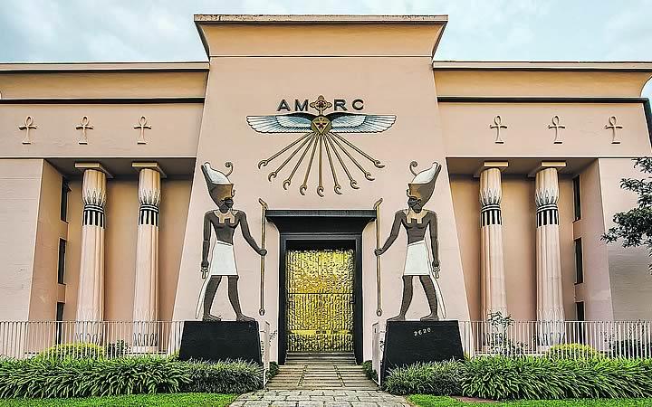 Museu egípcio e Rosa Cruz - Curitiba