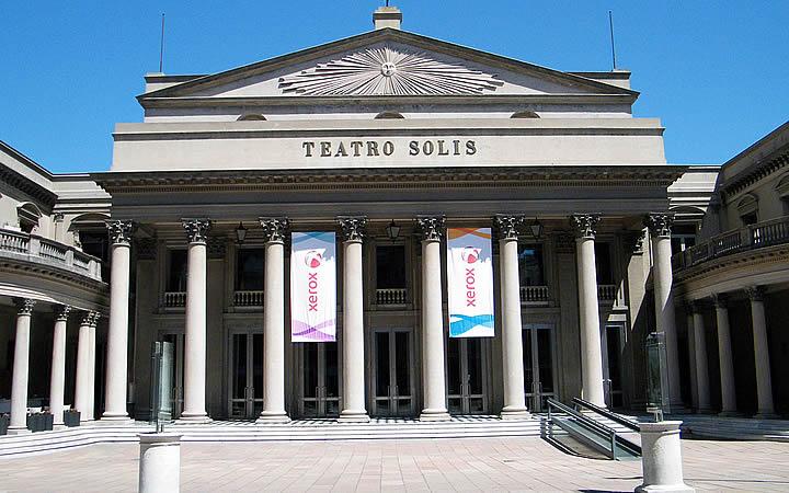 O Teatro Solís - Montevidéu