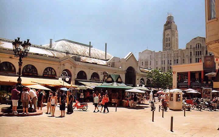 O mercado del Puerto - Montevidéu