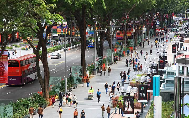 Orchard Road em Singapura