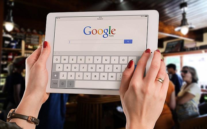 Pesquisando no Google