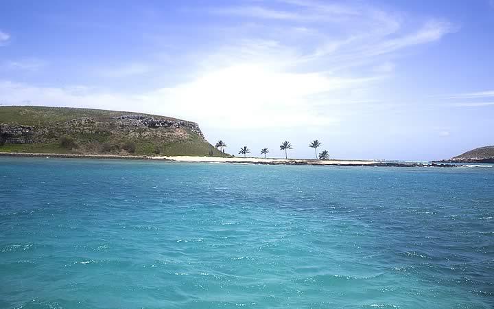 Praia da Ponta da Baleia em Abrolhos