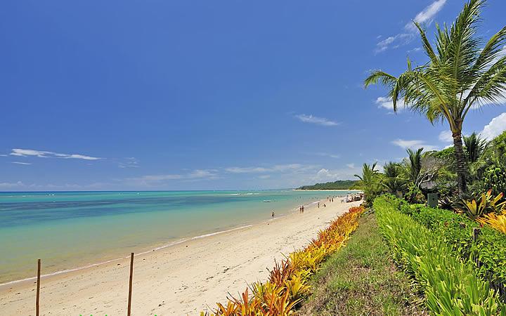 Praia de Araçaípe - Arraial d' Ajuda