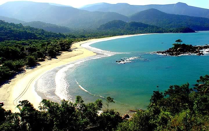 Praia de castelhanos - Ilhabela - Litoral Paulista