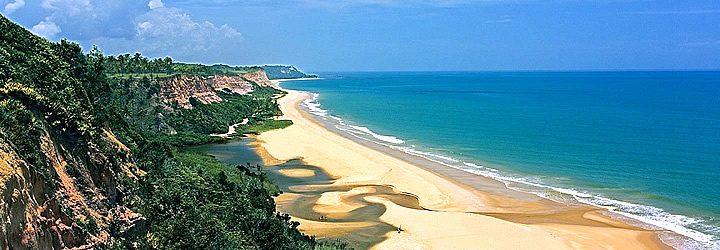Praia do Rio da Barra em Trancoso - Bahia
