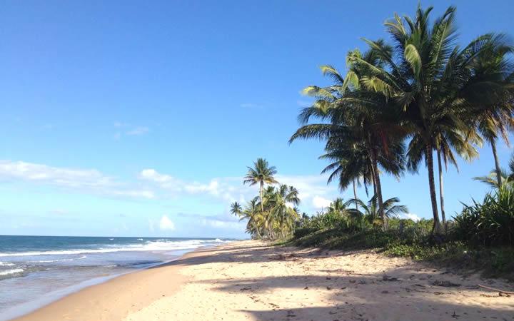 Praia ou Lagoa Cassange - Península de Maraú