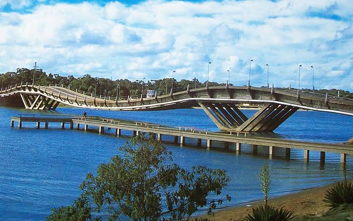 Puente Leonel Viera ponte - La Barra - Punta Del Este
