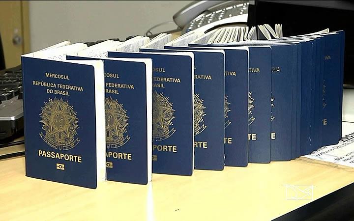 Retirar passaporte